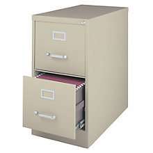"Dimensions Two Drawer Letter Sized Vertical File - 25""D, 8804230"