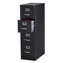 "Dimensions Four Drawer Letter Sized Vertical File - 26.5""D, 8804234"