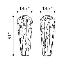 Geode Large Vase, 8807327