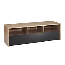 "Infini-T Two-Tone 60"" TV Stand with Drawers, MEG-210413"