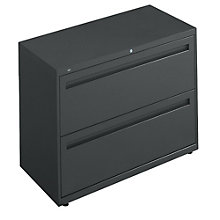 "2 Drawer 36""W Lateral File Cabinet, HON-782L"