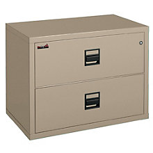 "Fireproof Two Drawer Lateral File - 38""W, FIR-253822-CSCML"