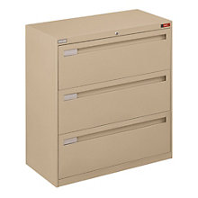 "Spectrum 36""W Three Drawer Lateral File, NBF-3636L30"