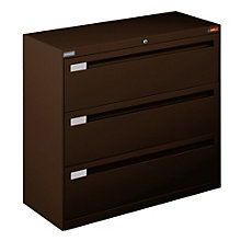 "Spectrum 42""W Three Drawer Lateral File, NBF-4236L30"