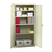 "Fully Assembled Steel Storage Cabinet - 36""W x 18""D x 72""H, TES-7218"