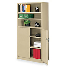 "Bookcase with Locking Cabinet - 72""H, 8804088"