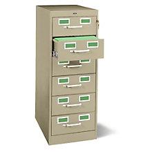 Six Drawer Card File, TES-CF-646