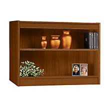 "Square Edge Two Shelf Reinforced Bookcase - 30""H, ERC-L13630"