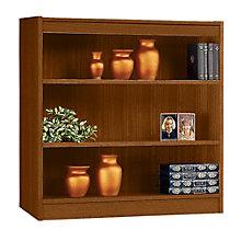 """Square Edge Three Shelf Reinforced Bookcase -36""""H, ERC-L13636"""