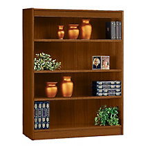 "Square Edge Four Shelf Reinforced Bookcase -48""H, ERC-L13648"