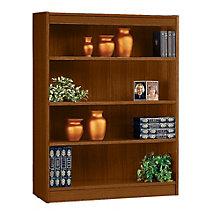 "Square Edge Four Shelf Reinforced Bookcase -48""H, ERC-L13648"