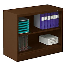 "Two Shelf Steel Bookcase - 18""D, TES-BC18-30"