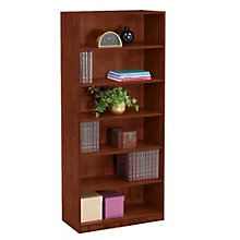 "Six Shelf Bookcase - 71""H, REN-L7132BC"