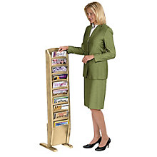 Ten Pocket Magazine Rack, LES-X1310M1
