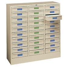 Letter Size 30-Drawer Cabinet, TES-2085