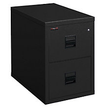 "Fireproof Two Drawer Legal Size Vertical File - 31""D, FIR-2S2130-CSCML"