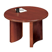 "Contemporary 48"" Round Conference Table, LES-V1948P8"