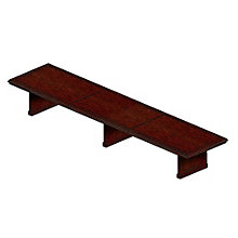 Traditional Rectangular Conference Table - 18'W, MAL-TC18