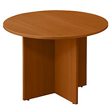 """42"""" Round Table with Cross Base, NBF-SL42R"""