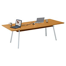 "Mystic Rectangular Conference Table with Data Port - 96"" x 42"", 8802888"