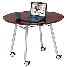 "Mystic 42"" Round Table with Casters, LES-S1942Q4"