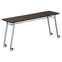"Mystic Utility Table with Casters - 72"" x 20"", LES-S1172Q4"