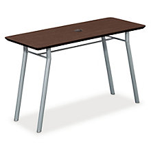 "Mystic Utility Table with Data Port - 48"" x 20"", LES-S1148R4P"