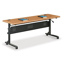 "Mobile Flip-Top Table - 72""W x 24""D, BAL-11183"