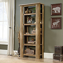 "Boone Mountain Five Shelf Bookcase - 72""H, 8805142"