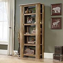 "Boone Mountain Five Shelf Bookcase - 72""H, 8805142"