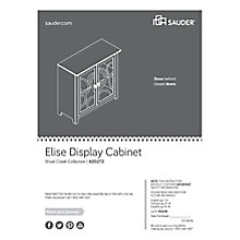 "Elise Display Cabinet with Glass Doors - 36""W, 8805135"