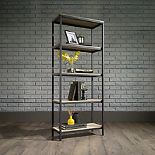 "North Avenue Four Shelf Bookcase - 57""H, 8807679"