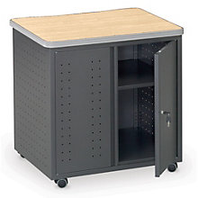Utility Table with Locking Doors, OFM-66746