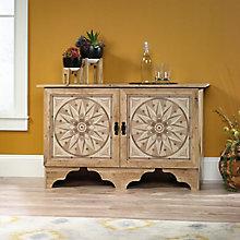 """Viabella Starburst Two Door Storage Cabinet - 51""""W, 8813408"""