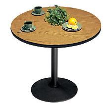 """Round Breakroom Table - 30"""" Diameter, VIR-U30R-63822"""