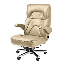 Big and Tall Office Chair in Genuine Leather, 8810168