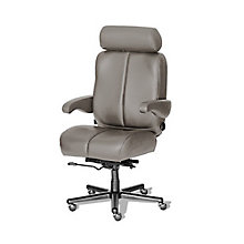 Big and Tall Office Chair in Genuine and Faux Leather, 8810173