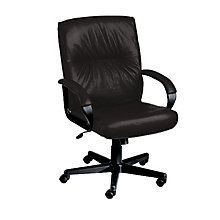 Mayor Leather Desk Chair, ERC-PS7351