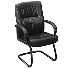 Leather Guest Chair, ERC-PS-7350C
