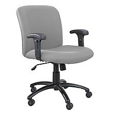 Fabric Big and Tall Task Chair with Arms, SAF-3491A