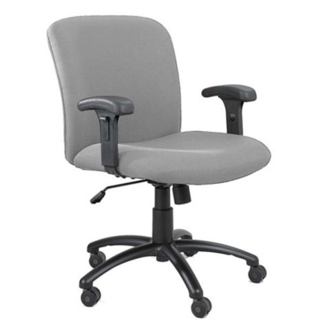 Fabric Big And Tall Task Chair With Arms