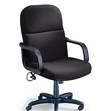 Comfort Big and Tall Fabric Executive Chair, MAL-1801AG