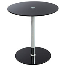 Vine Glass Top Accent Table, 8802469