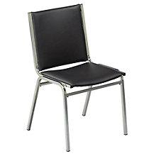 Armless Vinyl Stack Chair, KFI-410V
