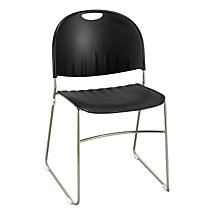 Polypropylene Stack Chair with Sled Base, KFI-2100