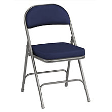 "Fabric Folding Chair with 2"" Thick Seat, KRU-NBF03"