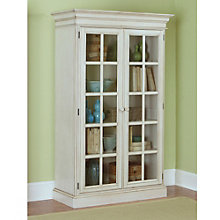 "Pine Island Five Shelf  Two Door Bookcase - 75""H, 8803903"