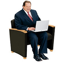 Savoy Bariatric Guest Chair - Standard Fabric, LES-G1801G4