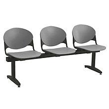 Polypropylene Three Seat Bench, KFI-2000-3