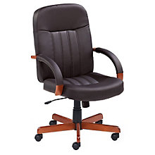 Ethos Tufted Leather Executive Chair, 8803053